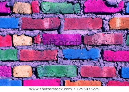 レンガの壁 · 赤 · レンガ · 異なる · 家 · 壁 - ストックフォト © ozaiachin