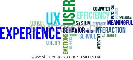 woordwolk · gebruiker · protocol · netwerk · communicatie · vervoer - stockfoto © master_art
