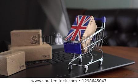 vásárlás · nagyszerű · boldog · fiatal · trendi · nő - stock fotó © Fisher
