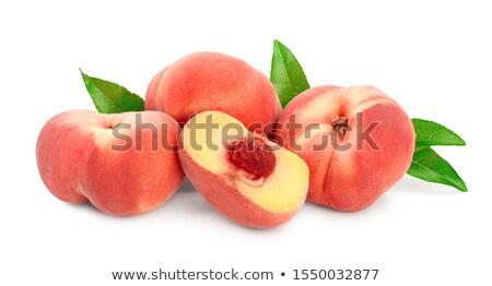 Flat or saturn peaches Stock photo © Karaidel
