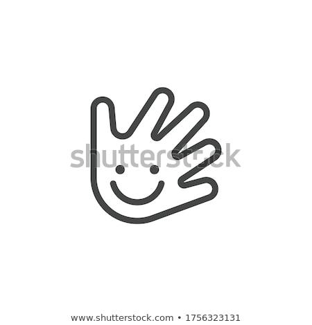 Kicsi jótékonyság kilátás kéz üzlet nő Stock fotó © hsfelix