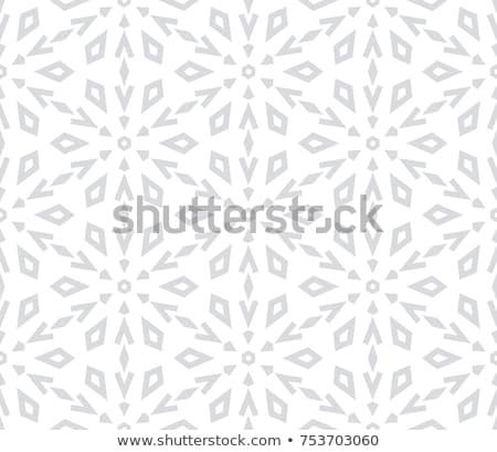 Sneeuwvlok patroon vector textuur christmas nieuwjaar Stockfoto © LittleCuckoo
