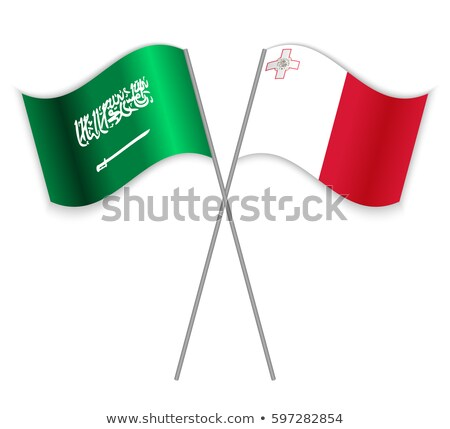Saudi Arabia and Malta Flags  Stock photo © Istanbul2009