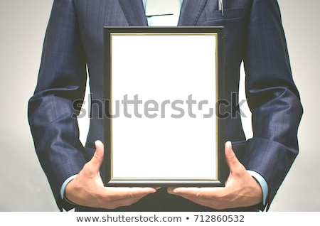 Award Trophy Prize Isolated Blank Copy Space Stock photo © iqoncept