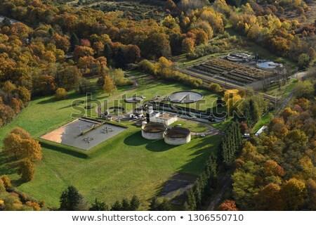 rural wastewater treatment plant Stock photo © artush