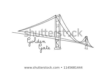 lacuna · negócio · gigante · lápis · desenho - foto stock © lightsource