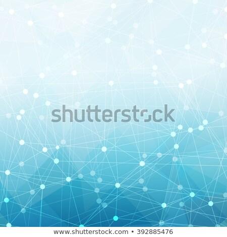Resumen azul buena financieros anual cubrir Foto stock © pashabo