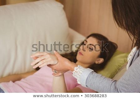 Polso donna help femminile professionali Foto d'archivio © wavebreak_media