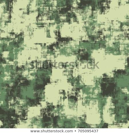 Digital Woodland Camouflage Seamless Pattern Stock photo © timurock