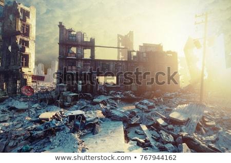 Nuclear world  Stock photo © bonathos