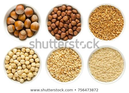 hazelnuts in the bowl  Stock photo © OleksandrO