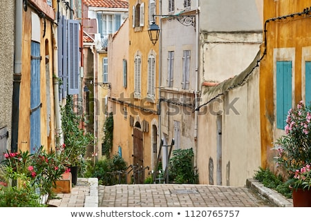 View of the historic quarter Le Panier in Marseille  Stock photo © meinzahn