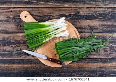 picado · rústico · comida · madeira · saúde - foto stock © digifoodstock