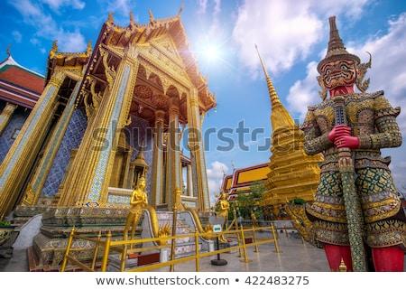 ночь Бангкок towers дворец Таиланд свет Сток-фото © Mikko