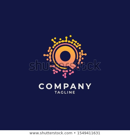 Logo Shapes and Icons of Letter Q Stock photo © cidepix