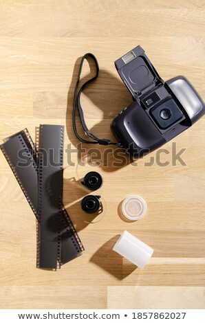 Photography setup with some equipment Stock photo © zurijeta