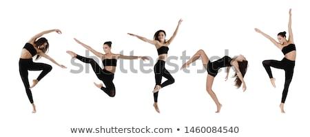 現代の ダンス プロジェクト 小さな 男 長い ストックフォト © blanaru