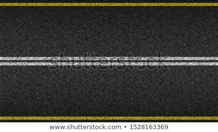 beyaz · yol · doğa · sokak · siyah - stok fotoğraf © shevtsovy