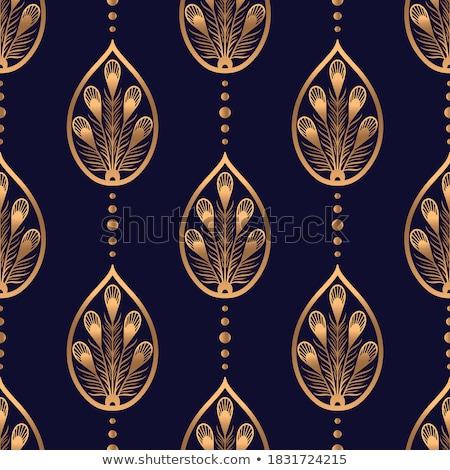beautiful diwali wallpaper with paisley art Stock photo © SArts