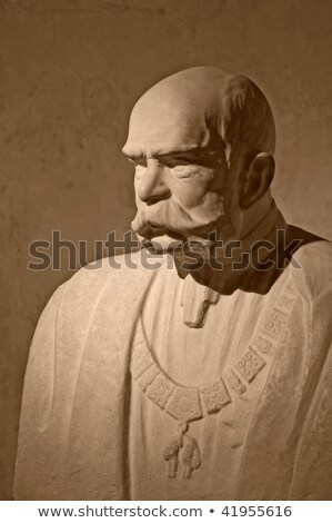 Stock photo: Monument of franz joseph and albertina