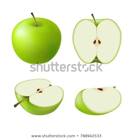 Groene appel vers voedsel vruchten Stockfoto © Digifoodstock