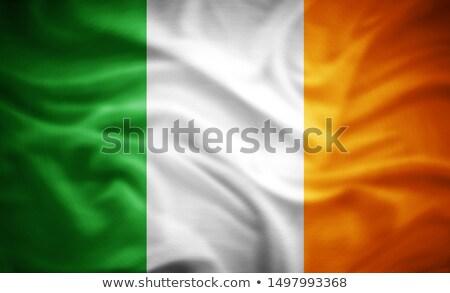 Foto stock: Euros · símbolo · bandera · Irlanda · 3d · Países · Bajos
