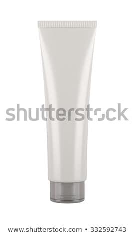 Izolált cső krém fehér szex szépség Stock fotó © popaukropa