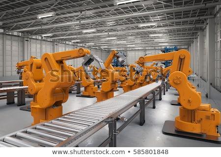 Robotico cintura produzione line braccia lavoro Foto d'archivio © RAStudio