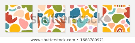Brand in Multicolor. Doodle Design. Stock photo © tashatuvango