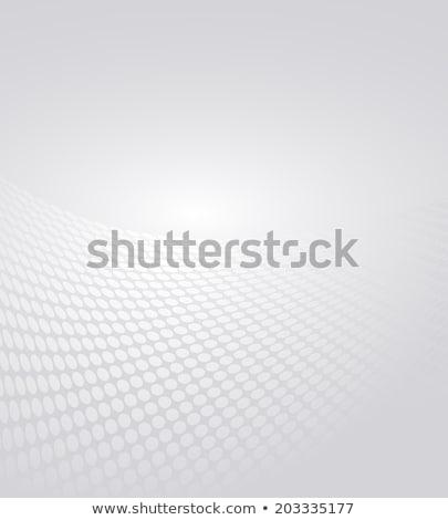 Ondulato mezzitoni abstract cerchio Foto d'archivio © SArts