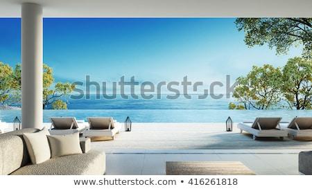 пляж мнение пейзаж лет океана синий Сток-фото © armstark