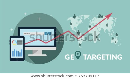 Geo Targeting Concept on Digital Background. Stock photo © tashatuvango