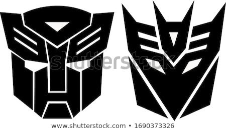 transzformátor · robot · izolált · fehér · 3d · render · fém - stock fotó © anyunoff