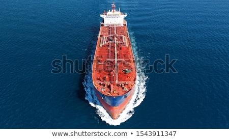 olietanker · Blauw · industrie · schip · olie · chemische - stockfoto © nobilior