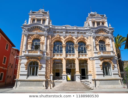 Llanes post office correos building in Asturias Spain Stock photo © lunamarina