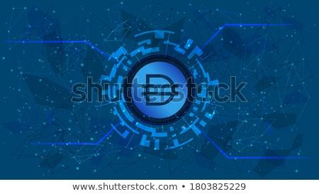 Dai Crypto Currency. Vector DAI Graphic Symbol. Vector Icon Stock photo © tashatuvango
