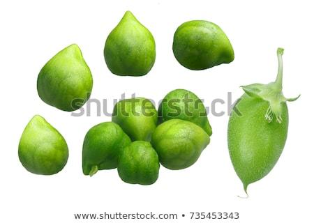 Stockfoto: Variëteit · groene · peul · bonen · voedsel