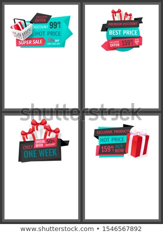 Exclusive Product, Hot Price One Week Only Web Stock photo © robuart