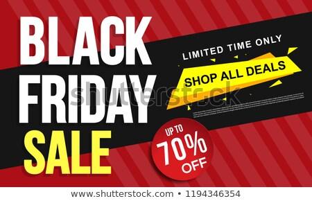 black · friday · venta · banner · estilo · moderno · tienda · negro - foto stock © robuart