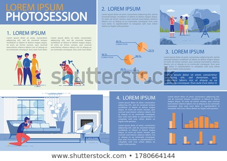 profissional · ilustração · homem · televisão - foto stock © robuart