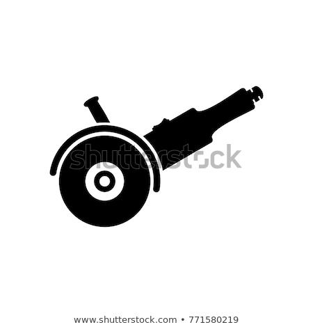 アイコン グラインダー 薄い 行 デザイン 速度 ストックフォト © angelp