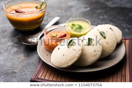 традиционный керамической кегли различный блюд Сток-фото © dash