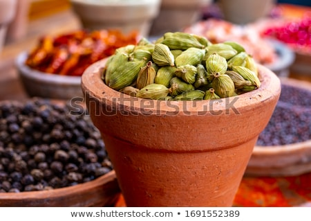 Сток-фото: кардамон · гвоздика · великолепный · приготовления · специи · травы