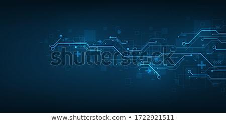 programming blue template stock photo © genestro