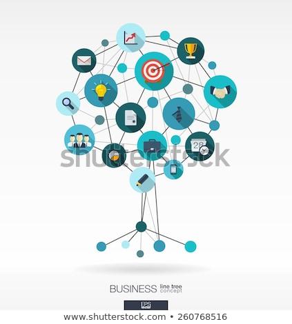 Mobil média optimalizálás ekereskedelem internetes vásárlás promóció Stock fotó © RAStudio