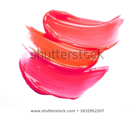 colorful lipstick collection isolated white background stock photo © adamson