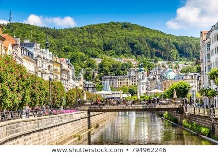 Stock photo: river Tepla, Karlovy Vary