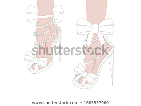 shoes color pattern stock photo © netkov1