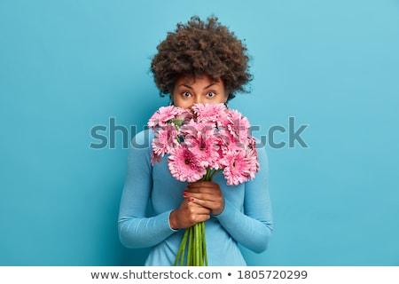букет · цветы · девушки · детей · ребенка - Сток-фото © ruslanshramko