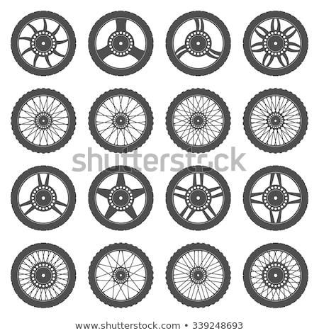 fiets · grijs · auto · auto - stockfoto © yurischmidt